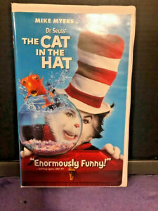 Dr. Seuss The Cat in the Hat (VHS, 2004, Clamshell Case Packaging Edition)