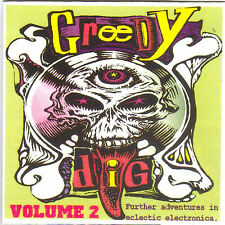 GREEDY DIG VOL 2  COMPILATION CD / VARIOUS TECH-HOUSE / TECHNO, ELECTRONICA