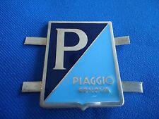 VESPA PIAGGIO GENOVA LAMBRETTA ROLLER EMBLEM BADGE 42 mm X 37mm