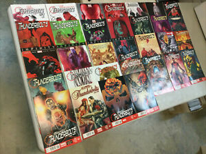 Thunderbolts 2nd series 1-32 Complete Set Marvel Comics 2012 READ DESCRIPTION