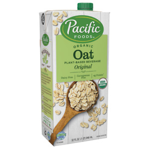 Pacific Foods Oat Original - Organic - Case of 12 - 32 Fl oz.