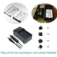2 Battery +Charger For BN-VH105 JVC GC-XA1 GC-XA1U GC-XA2 E GC-XA2U ADIXXION
