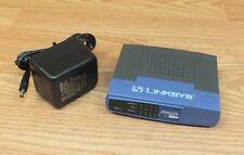 Linksys EtherFast (Ezxs55W V2) 10/100 5-Ports External Switch w/ Power Supply