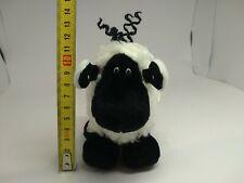 Sheepworld Plüschtier Stofftier Schaf schwarz/weiß 12cm groß Anhänger Schlaufe