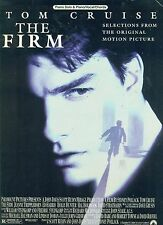 """THE FIRM"" PIANO/VOCAL/GUITAR CHORDS MUSIC BOOK-FROM THE MOVIE:TOM CRUISE RARE!"