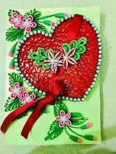 hand made birthday cards by paper quilling