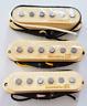 New set LACE stratocaster alnico - staggered - cream - pour guitare strat