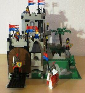 Lego Ritter Bausatz 6081 Ritterburg mit Bauanleitung (lose Seiten )
