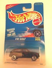 Hot Wheels Volkswagon Golf w  Guaranteed For Life Collector # 474