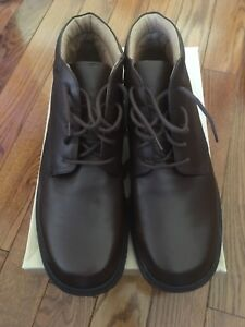 Bass Thornton Men's Leather Upper Shoes Size 11.5 Made in Italy