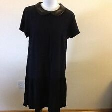 George Polyester Short Sleeve Tunic Dresses for Women