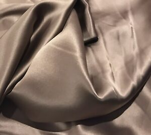 """Nude  silk charmeuse fabric 45"""" width sold by the yard"""