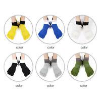 Paires Chaussettes de Sport Pour Hommes Femmes– Doigts de Pied Séparés –