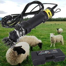 Proffesional 320w Sheep Goat Clipper Kit Electric Shearing Machine 110v