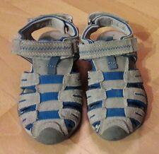 Schöne blau/graue Sandalen von Hush Puppies   in größe 27  aus Leder