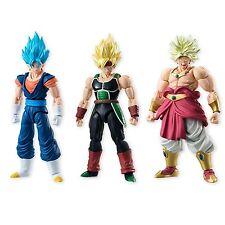 Bandai Dragon Ball Z Shodo 5 Action Figure Set NEW Bardock Vegetto Broly Toys