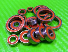 [Orange] Rubber Ball Bearing Bearings FOR TRAXXAS 1:16 E-REVO VXL / SLASH VXL