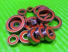 [Orange] Rubber Ball Bearing Bearings Set FOR TRAXXAS E-REVO / REVO 3.3 PLATINUM