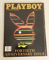 JANUARY 1994 PLAYBOY MAGAZINE COLLECTOR'S EDITION FORTIETH ANNIVERSARY ISSUE