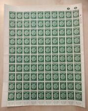 RR 1950 ISRAEL MERED-2  10PR STAMPS X100  FULL SHEET  FOLDED  COMBINE SHIPPING