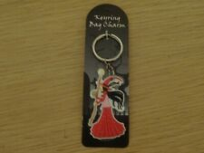 "WITCHES OF PENDLE *SASHA WITCH"" FLEXIBLE BAG CHARM/ KEYRING  OCCULT/ WITCH"