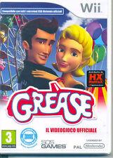 Grease il videogioco ufficiale Nintendo Wii Nuovo E SIGILLATO