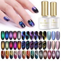 BORN PRETTY 9D Cat Eye Magnetic Nagellack Einweichen Polish Soak Off UV Gel Nail