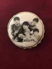 Vintage 1964 The Beatles Brooch Pin Badge By NEMS LTD Styled by Nicky Byrne