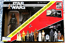 """STAR WARS 40th Anniversary 6"""" Darth Vader Action Figure Legacy Pack MIP!"""