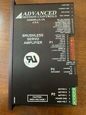 Advanced Motion Controls Pwm Brushless Servo Amplifier Be30a8e