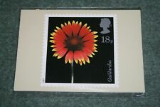 Post Office Stamp Cards PHQ 99 'Flowers'. 1987. Mint in Packet