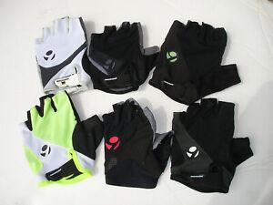 Lot of 6- Bontrager Fusion Gel Left Gloves-Medium