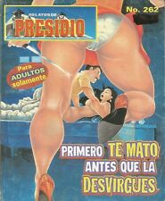 RELATOS DE PRESIDIO MEXICAN COMIC #262 MEXICO SPANISH HISTORIETA 1999 CRIME