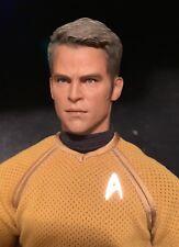 "1/6 12"" Iminime Star Trek Brash Captian Kirk Darkness Pine Masterworks Cult King"