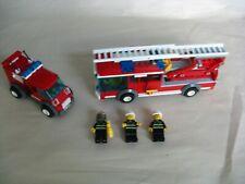 New ListingLego City 7208: Ladder Fire Truck & Van w/ (3) Minifigs.Accessories & Bonus