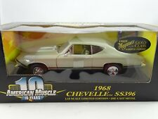 1:18 Ertl #36382 - 1968 Chevelle SS396 Verde Oliva Edizione Limitata - Rarità §