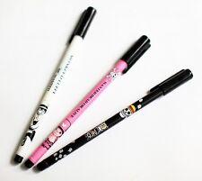 【NEW】1 Set  3 pcs 0.38mm ONE PIECE Cute gel pen Monkey D Luffy Chopper