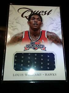 2012-13 Panini Crusade Quest Jersey #62 Louis Williams Atlanta Hawks Lou