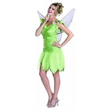 Tinker Bell Classic Disney Tinkerbell Adult Green Fairy Pixie Halloween Costume