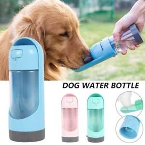 300ml Katze Hund Haustier Wasserflasche Trinkbecher Tasse Travel Portable