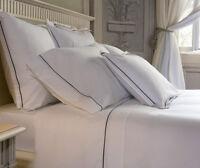 Signoria Firenze Luce Queen Flat Sheet - Ivory/Ivory