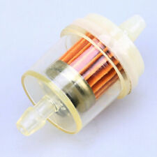 1/4'' 6mm Inline In&Out Oil Gas Fuel Filter for Harley Honda Yamaha Kawasaki BMW