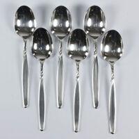 6 WMF Rom Speise Suppen Tafel Löffel  90er Auflage Silber versilbert vintage alt