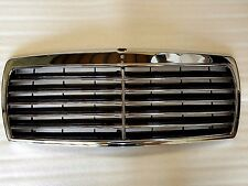 1982-1993 for Mercedes W201 190E 190D Assembly Black Grille with Chrome Frame