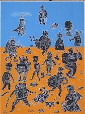 Hendrik Dorgathen, Originalgrafik, 30 x 42 cm, von 1999 handsigniert, Auflage 60