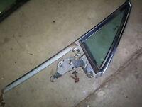 1966 Cadillac Fleetwood rear vent window frame glass DR