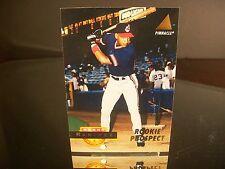 Manny Ramirez Pinnacle ROOKIE PROSPECT 1994 Card #244 Cleveland Indians Baseball