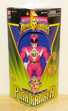 Vintage Mighty Morphin Power Rangers Talking Pink Ranger Kimberly Action Figure