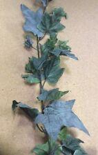 New 6ft Green Grape Leaf Garland Large Leaf Silk Flowers/Foliage