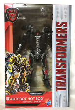 HASBRO TRANSFORMERS MV5 THE LAST KNIGHT DELUXE AUTOBOT HOT ROD FIGURE IN STOCK